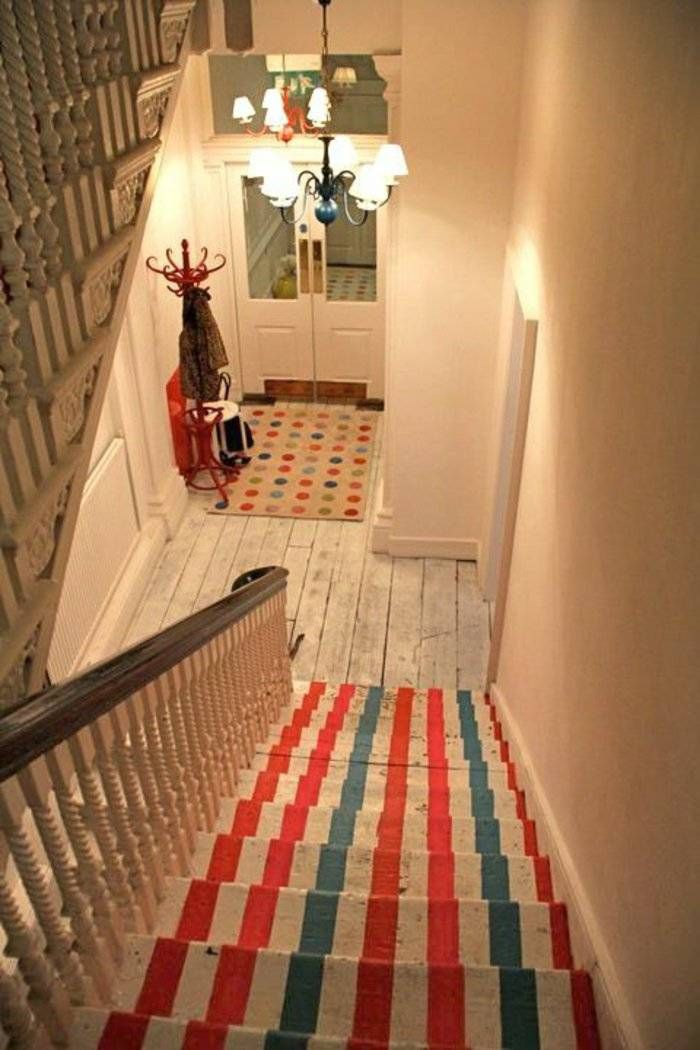 Tapis De Marche Escalier Leroy Merlin Le Tapis Pour Escalier En 52 Photos Inspirantes Check More At Https Marcgol In 2020 Escalier Design Home Decor Contemporary Rug