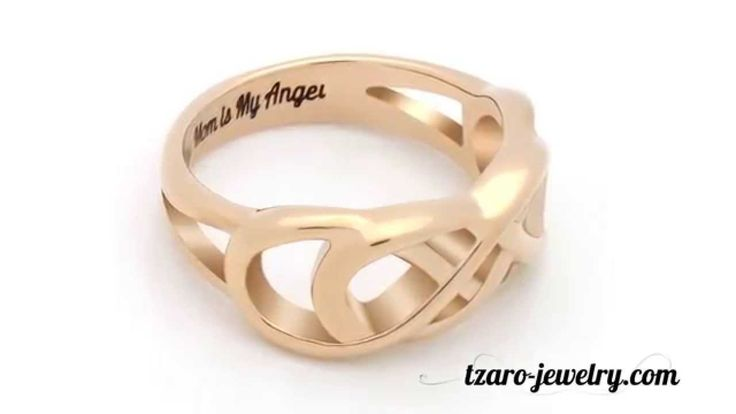 20% OFF USE Discount code: YOUTUBE. Infinity Ring for Mom