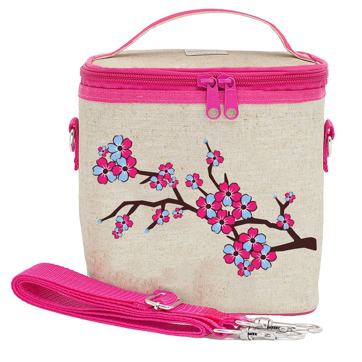 Cherry Blossom Large Lunch Bag fo Women