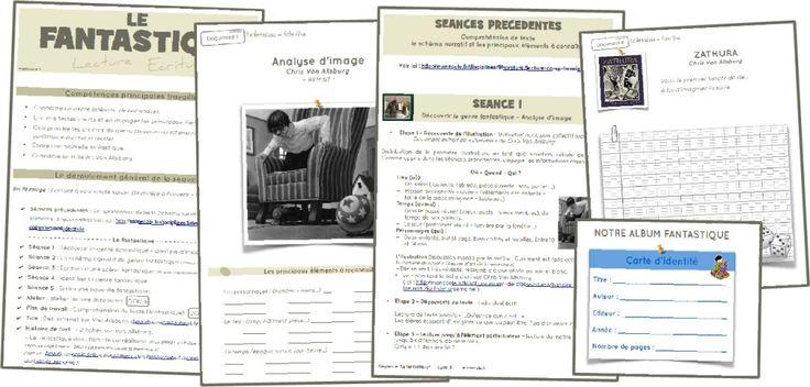 Sequence fantastique - Cycle 3: Une séquence complète - 18 pages - sur le genre fantastique qui mèle lecture et écriture.