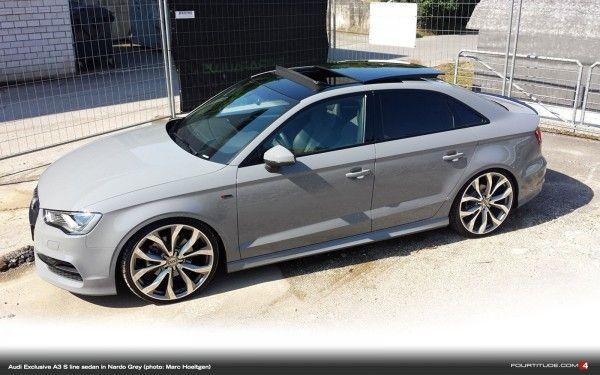 Audi Exclusive Nardo Grey A3 S line Sedan. Be Jealous. Be Very Very Jealous. - Fourtitude.com