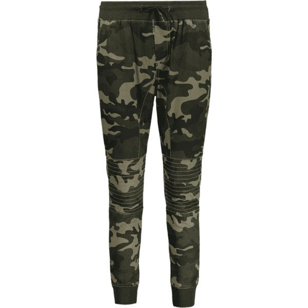 Camo Jogger Pants ($26) ❤ liked on Polyvore featuring pants, camo jogger pants, camoflage pants, military green pants, camouflage pants and jogger pants