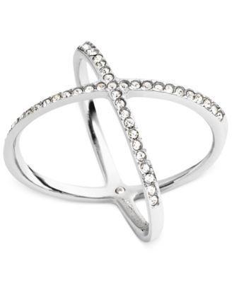 Michael Kors Circle X Ring