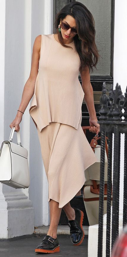 Amal Clooney's Most Stylish Looks Ever - August 17, 2015 from #InStyle