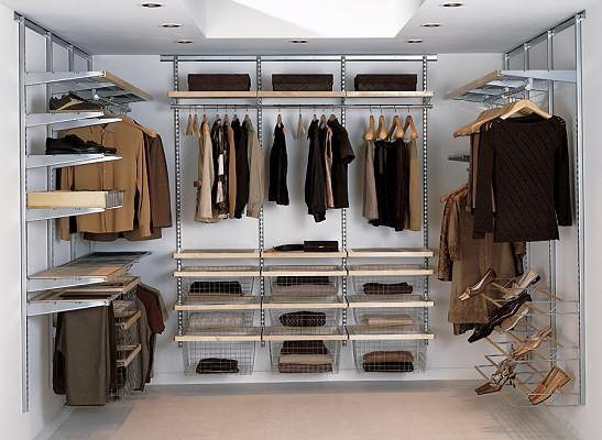KLEIDERSCHRANK SYSTEM deko selber machen -begehbarer kleiderschrank ...