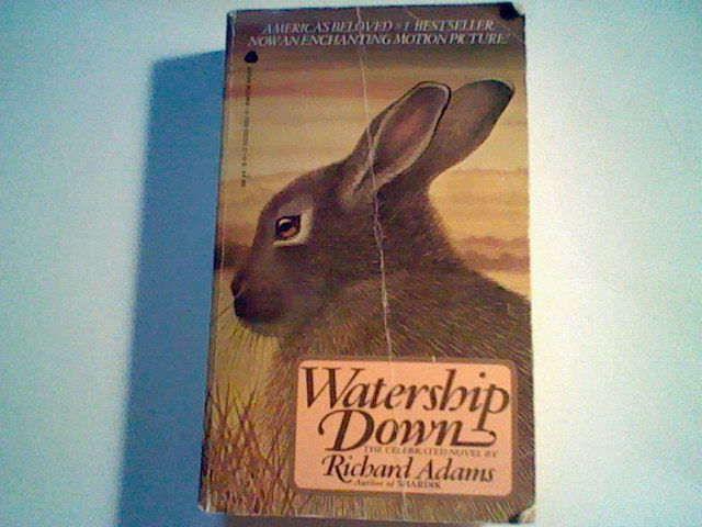 Watership Down by Richard Adams (Avon Mass Market Paperback)