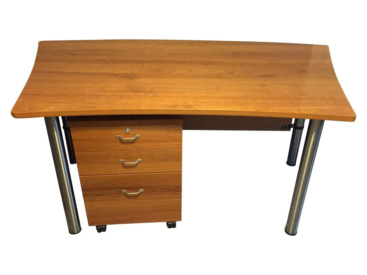 boconcept cherry desk and file cabinet