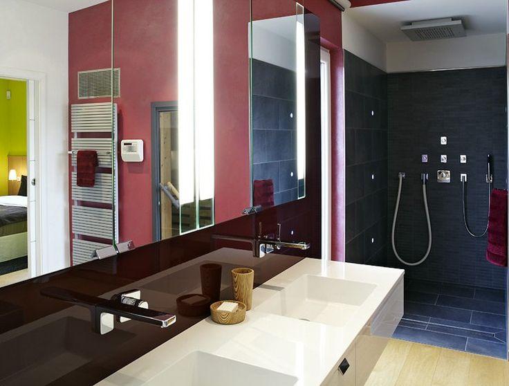 Pinterestu0027teki 25u0027ten fazla en iyi Badezimmer Mit Sauna fikri - luxus badezimmer wei mit sauna