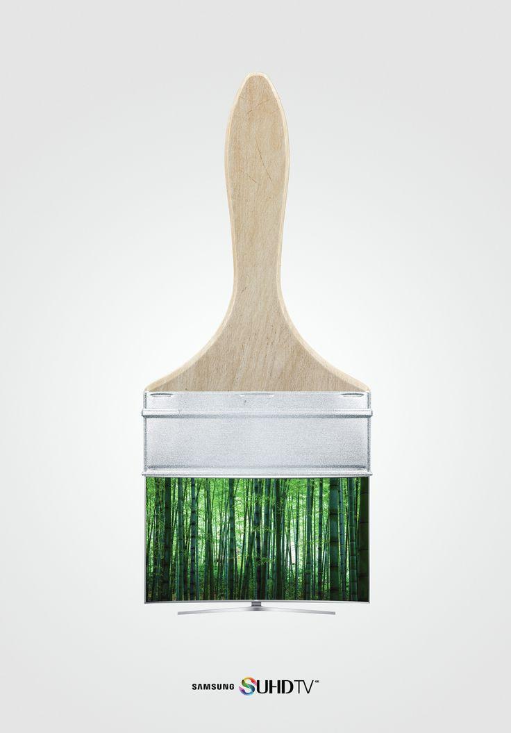 Adeevee - Samsung SUHD TV: Brush