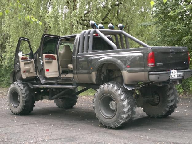 The List 0555 Drive A Monster Truck For Hubby Trucks Ford Lifted