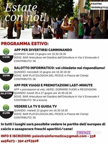"""Toscana: #\""""Estate con noi: #mini pillole informatiche\"""": corsi estivi di informatica (link: http://ift.tt/1UqUGyT )"""