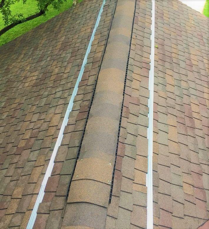 Copper Zinc Strips Roof Copper Roof Outdoor Garden