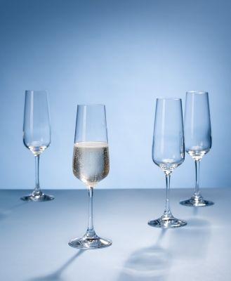 Villeroy & Boch Ovid, set champagneglazen
