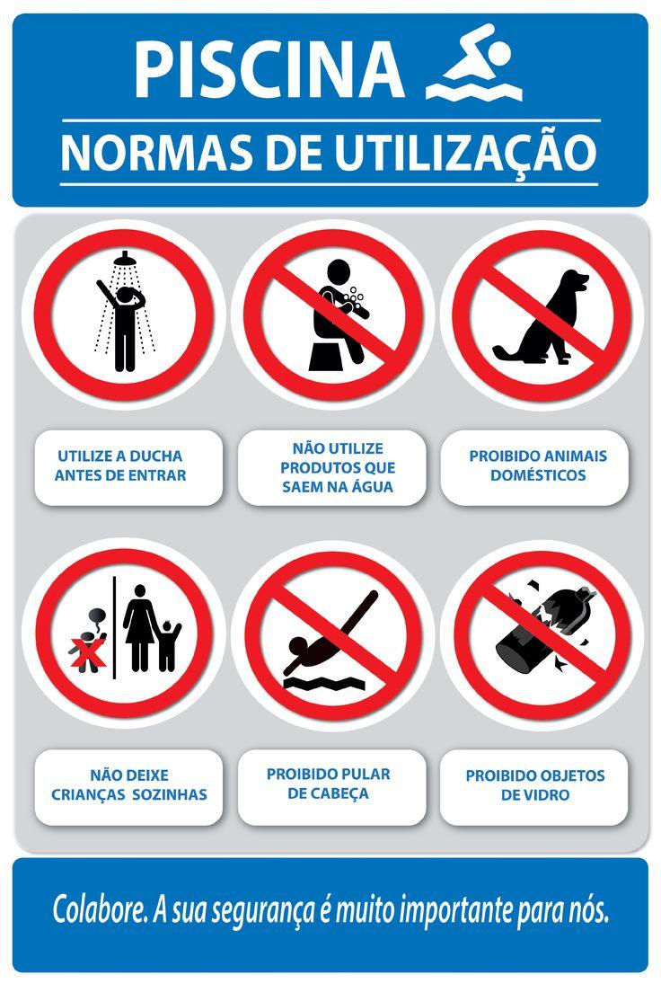 Dicas de seguran a no lazer uso da piscina banner for Piscina sobre o solo