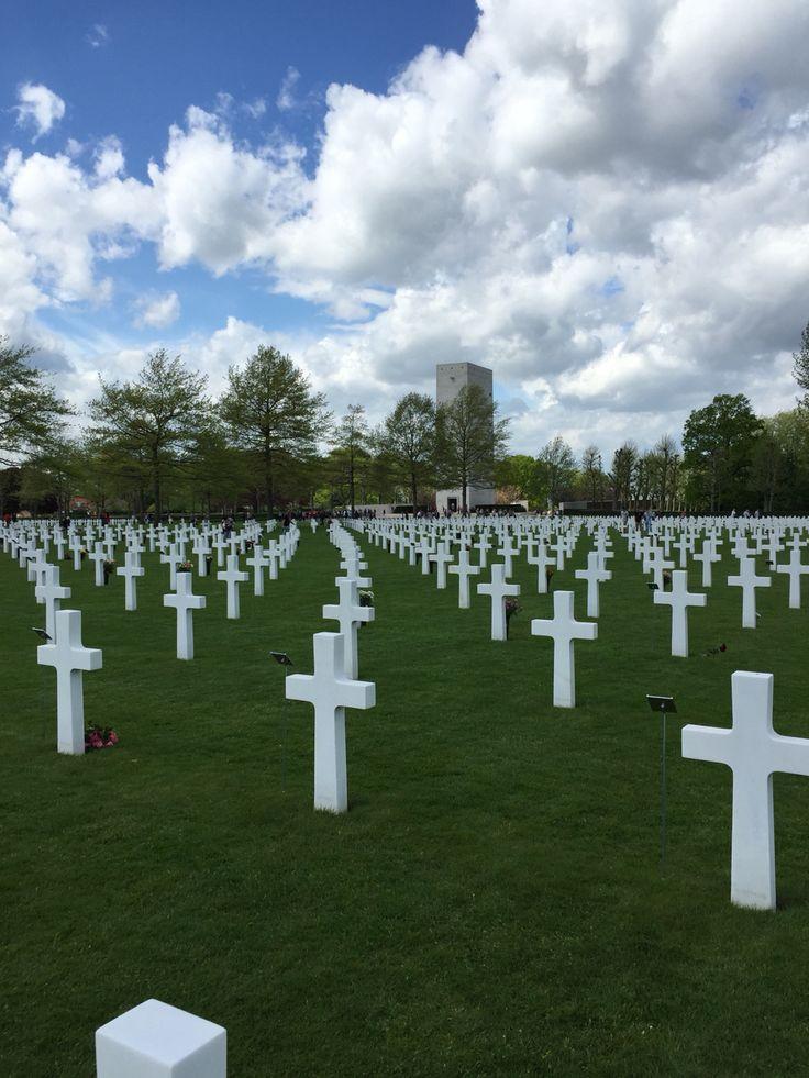 American Cemetery, Margraten, Zuid-Limburg.