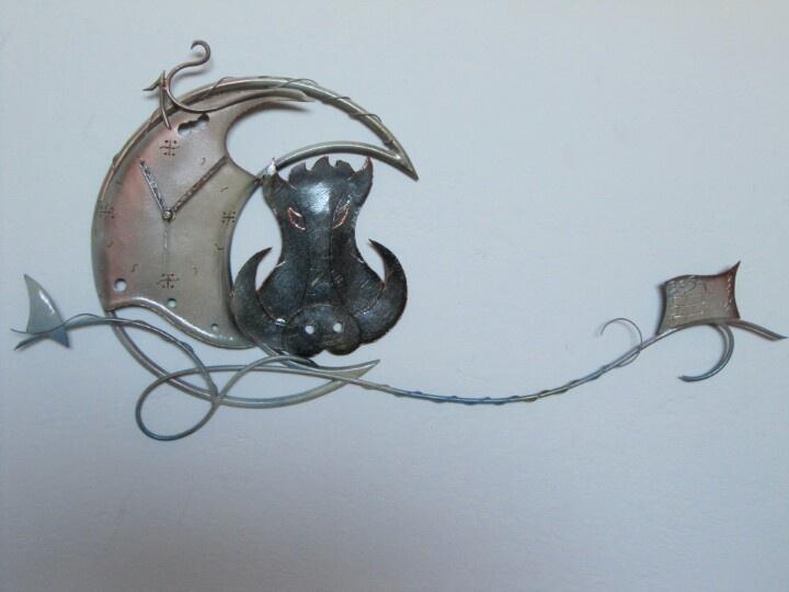 My ironwork clock