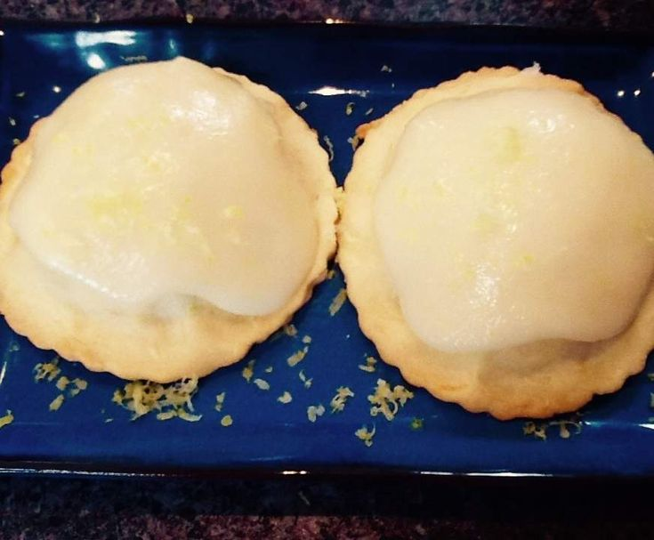 Heidi's iced apple shortcakes