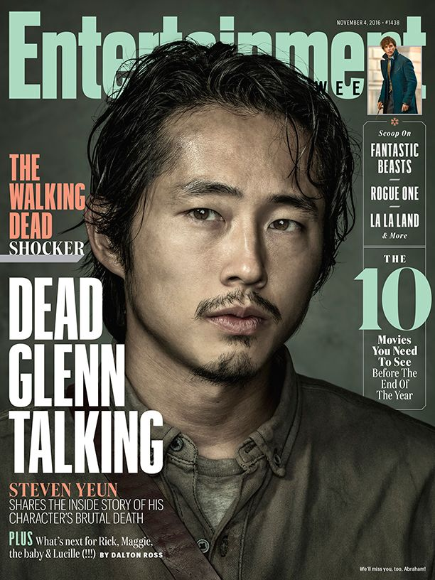 """[ew_brightcove videoid=""""5185991347001"""" pushTop autoPlay]    """"I don't know if I've fully processed it yet,"""" says Steven Yeun about the untimely demise of his character on The Walking Dead. Fans could say the same thing."""