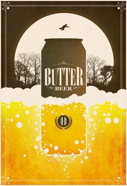 $19.78 at ImageKind. Design by Justin Van Genderen. But really, does ButterBeer ever get the love it deserves?
