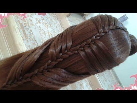 peinados recogidos faciles para cabello largo bonitos y rapidos con trenzas para niña para fiestas86 - YouTube