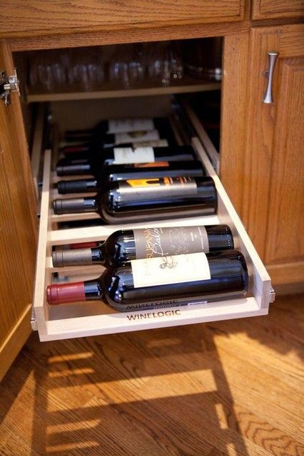 Wine rack furniture small wine rack cabinet trabajos en for Muebles de cocina vibbo
