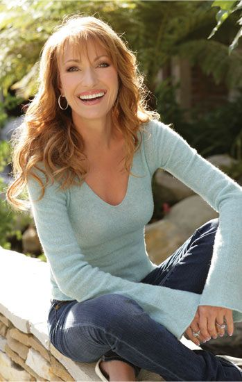 Jane Seymour's 'Insane' Garden, great healthy lifestyle, ageless, follows her passions, interview Healthy Living Magazine, Stars