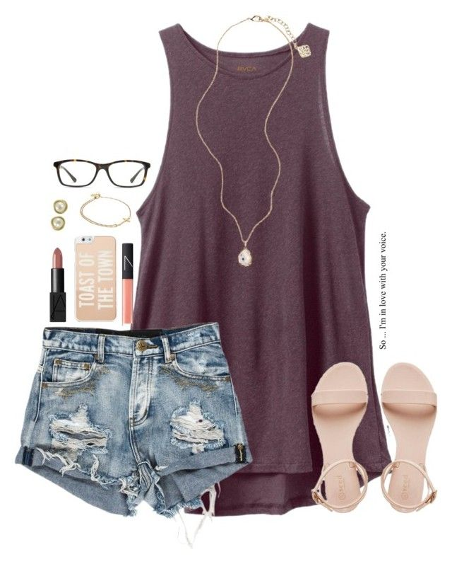 """everyone you meet in life, you meet for a reason"" by kaley-ii ❤ liked on Polyvore featuring RVCA, Kendra Scott, NARS Cosmetics, Kate Spade, Alex and Ani, GlassesUSA, Imperial, women's clothing, women's fashion and women"