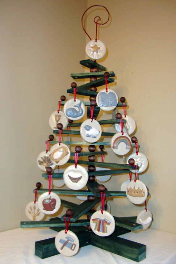 Tree to hang Jesse Tree Ornaments on