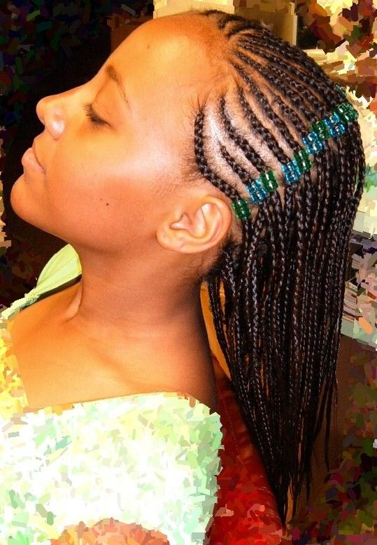 Super 1000 Images About Hair Styles On Pinterest Black Little Girls Hairstyle Inspiration Daily Dogsangcom