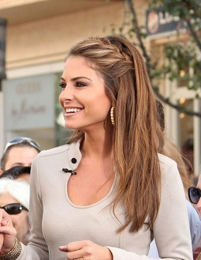 Pleasing 1000 Ideas About Straight Hairstyles Prom On Pinterest Hard Hairstyles For Women Draintrainus