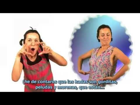 ▶ Cuento subtitulado y en lengua de signos LA CENICIENTA QUE NO QUERÍA COMER PERDICES - YouTube