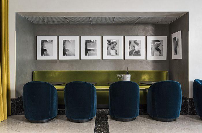 Rich colour palett with an art deco feel - in Paris restaurant | Hospitality design; interior architecture; interior design; interior styling; decor | MINTY WARES | VIA admagazine.fr - Le restaurant I Love Paris par India Mahdavi