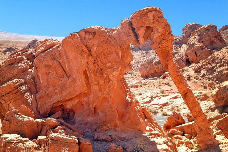 Vallée du Feu - Elephant Rock