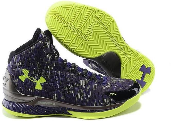 Mens Ua Curry One Basketball Shoes Black Purple Green, cheap Curry 1 Mens,  If you want to look Mens Ua Curry One Basketball Shoes Black Purple Green,  ...