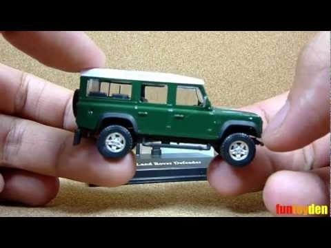 Land Rover Defender - Cararama Die-cast Car Collection Unboxing