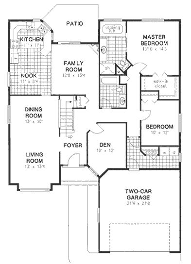 images about Fav home plans on Pinterest   House plans    House Plan No  House Plans by WestHomePlanners com