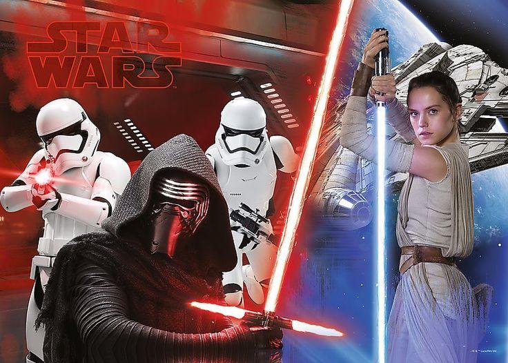 Puzzle TREFL 200 dílků - Star Wars: Síla se probouzí