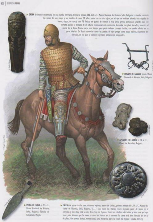 Thracian noble warrior, 4th-3rd cent. B.C.