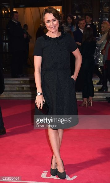 Keeley Hawes attends the ITV Gala hosted by Jason Manford at London... News Photo | Getty Images