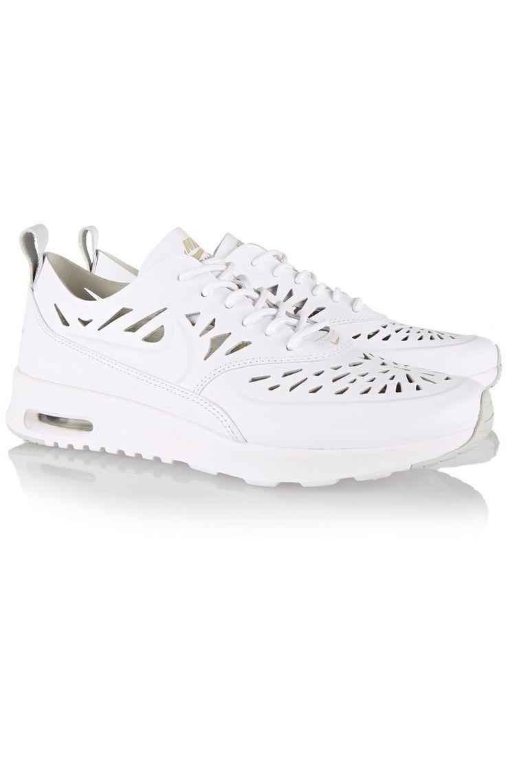 Nike|Air Max Thea Joli cutout leather sneakers|NET-A-PORTER.COM