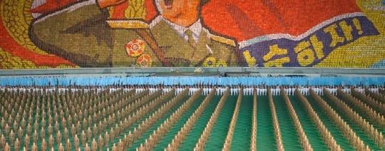 El estadio Reungrado, ubicado en Corea del Norte, es usado más como una instalación para la agitación de masas que como escenario futbolístico http://www.kienyke.com/historias/corea-del-norte-estadio-futbol-grande-mundo/