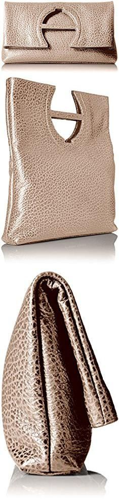 Aigner Bags. Etienne Aigner Bombe a Clutch Handbag, Taupe 274.  #aigner #bags #aignerbags