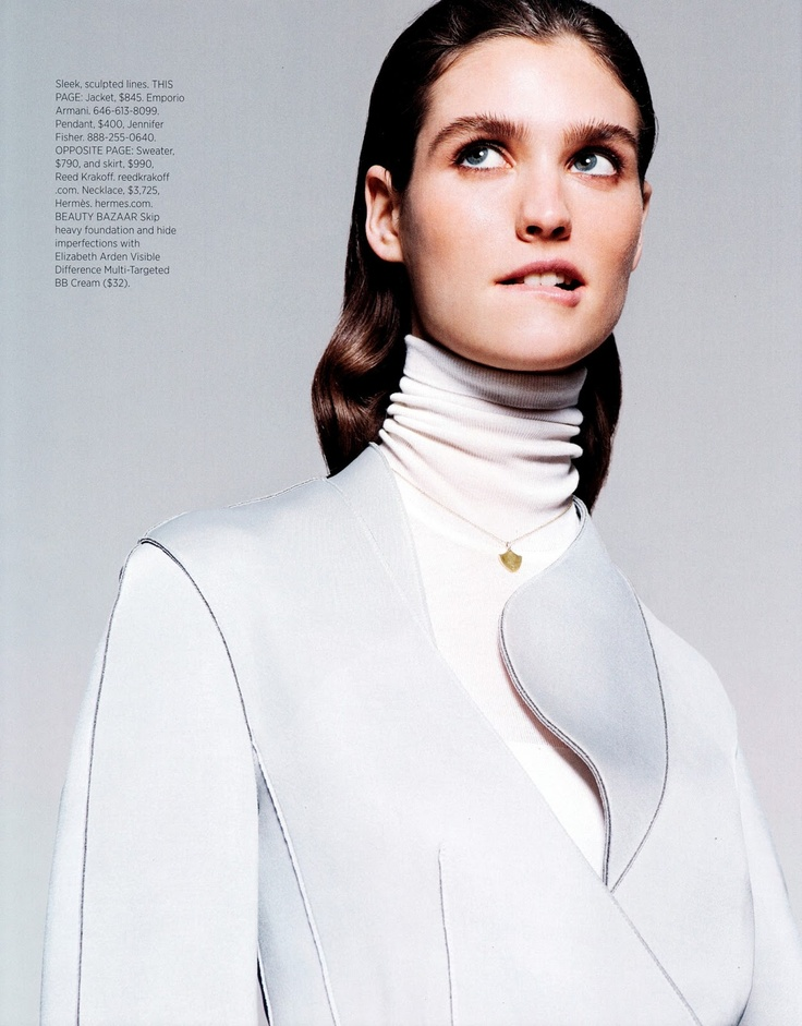 I'm trying to look nervous.  - Manon Leloup @ Wilhelmina