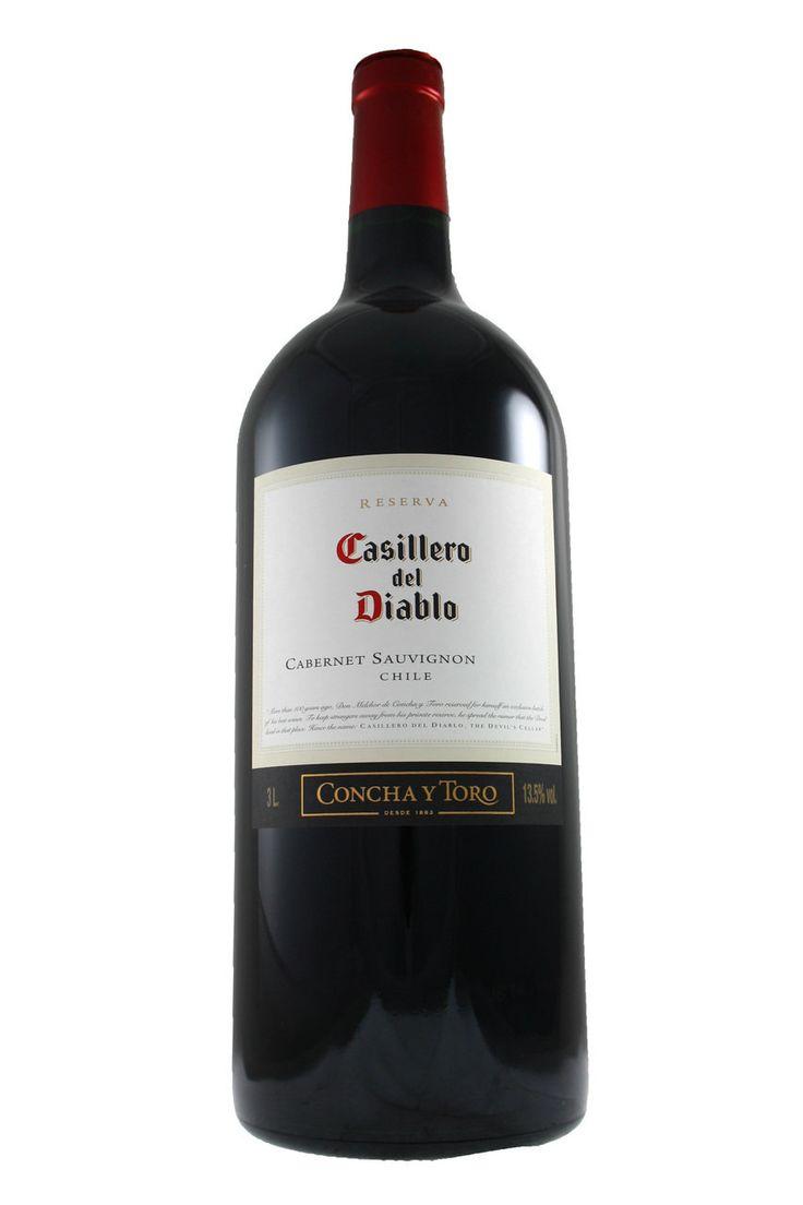 Casillero Del Diablo Cabernet Sauvignon Jeroboam 3ltr 2015 Concha Y Toro from Fraziers Wine Merchants