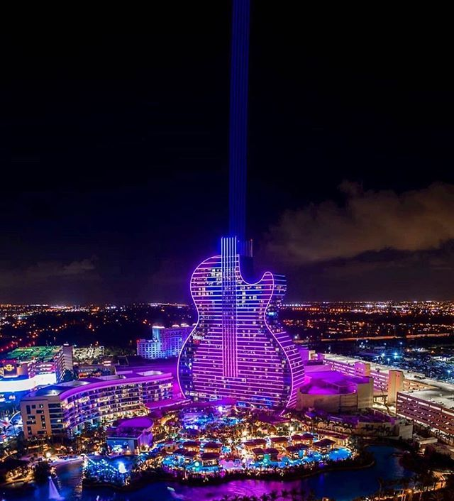 Just Amazing Hardrockholly Hope You Had An Amazing Opening Night Hollywood Beach Florida Hollywood Beach Beautiful Places To Travel