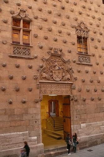 Salamanca Casa de las Conchas Spain