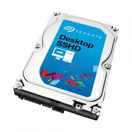 Deze desktop SSHD harde schijf bevat een 8GB MLC NAND geheugen, waar de meeste applicaties op geïnstalleerd worden. Dit biedt de snelheid van een SSD-schijf, met een lagere prijs en meer opslagcapaciteit.