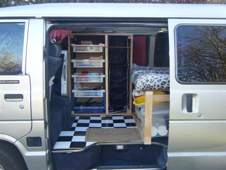 NZ DIY Camper Van Conversion   DanielStuart.ie