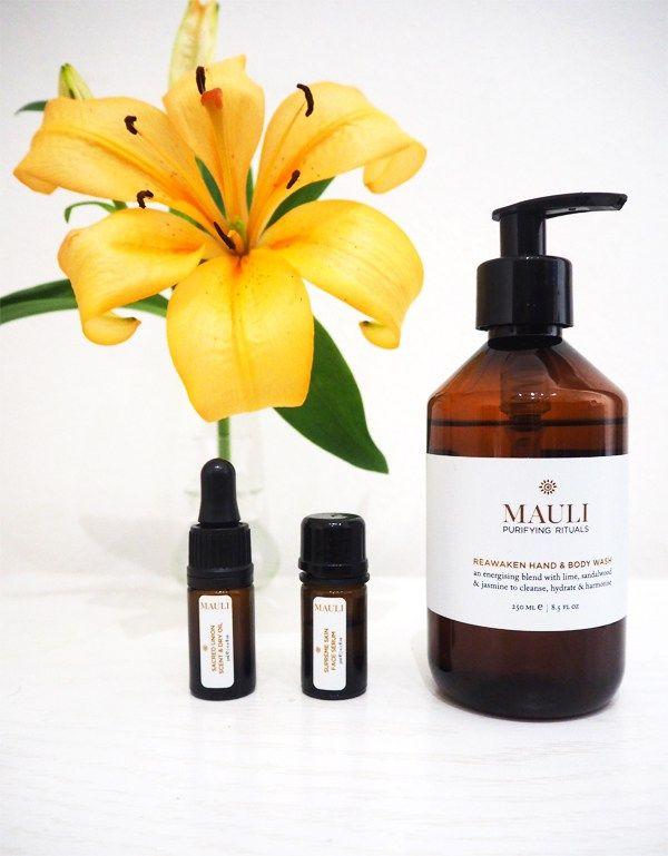 My new favorite natural wellbeing beauty brand Mauli Rituals.