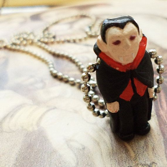 Russell The Vampire Necklace from The cute, the fun and the kitschy. by DaWanda.com